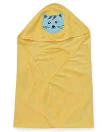 Simply Hooded Wrapper Cat Patch - Yellow