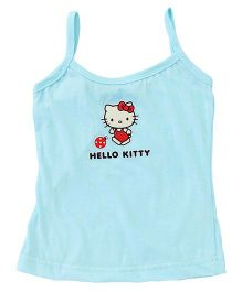 Hello Kitty Singlet Slip Sweet Dreams Print - Light Blue