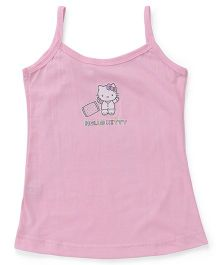 Hello Kitty Singlet Slip Printed - Pink