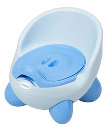 U grow Removable Potty Chair With Lid - Blue Dark Pink