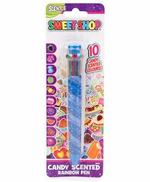 Scentos Sweet Shop Candy Rainbow Pen - Blue