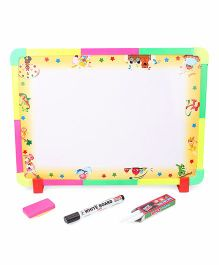 RK's 2 in 1 Writing Board - Multicolour