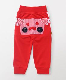 Wow Clothes Full Length Lounge Pants - Red