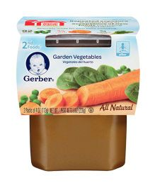 Gerber Garden Vegetables Pack Of 2 - 113 gm