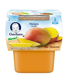 Gerber Mangoes Pack Of 2 - 113 gm