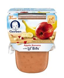 Gerber Apple Banana Pack Of 2 - 142 gm (each)