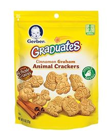Gerber Graduates Animal Crackers - 170 gm