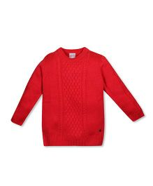 FS Mini Klub Full Sleeves Pullover Sweater - Red