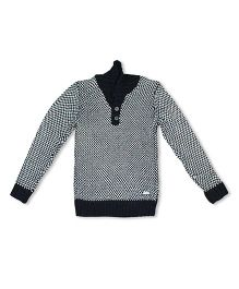 FS Mini Klub Full Sleeves Sweater - Black