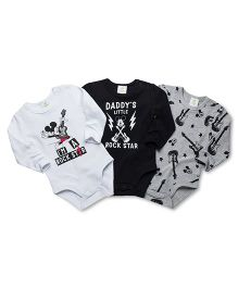 Fox Baby Onesies BLACK 6-12 M