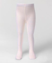 Fox Baby Tight Stockings - Pink