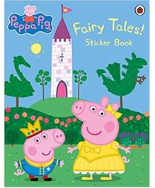Peppa Pig Fairy Tales Sticker Book - English