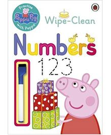 Peppa Pig Wipe Clean Numbers - English