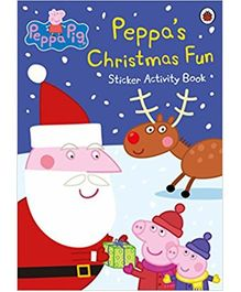 Peppa's Christmas Fun Sticker Activity Book - English