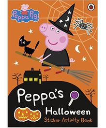 Peppa's Halloween Sticker Activity Book - English