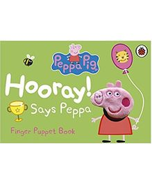 Hooray Says Peppa Finger Puppet Book - English