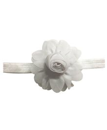 Angel Closet Rosette Headband - Grey