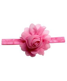 Angel Closet Rosette Headband - Pink