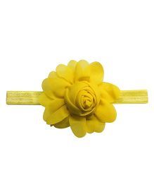 Angel Closet Rosette Headband - Yellow