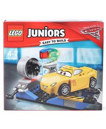 Lego Juniors Cruz Ramirez Race Simulator Yellow - 59 pieces