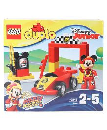 Lego Duplo Mickey Racer Red - 15 Pieces