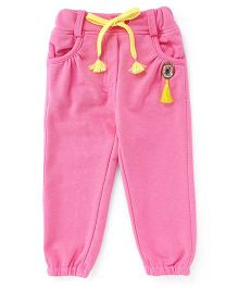 Little Kangaroos Full Length Track Pants - Pink