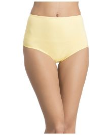 Clovia High Waist Maternity Hipster - Yellow