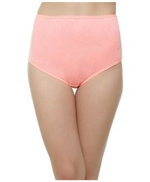 Clovia High Waist Maternity Hipster - Peach