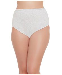 Clovia High Waist Maternity Hipster - Grey