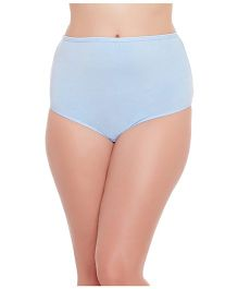Clovia High Waist Maternity Hipster - Blue