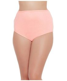 Clovia High Waist Maternity Hipster - Light Orange