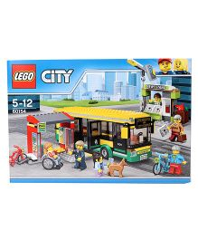 Lego City Bus Station Building Set - 337 Pieces