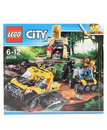 Lego City Jungle Halftrack Mission - 378 Pieces