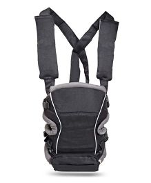 Colorland 2 Way Baby Carrier With Padded Adjustable Straps - Grey