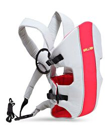 Colorland Baby Carrier With Padded Adjustable Straps - Red Grey