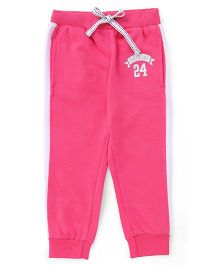 ToffyHouse Full Length Track Pant - Pink