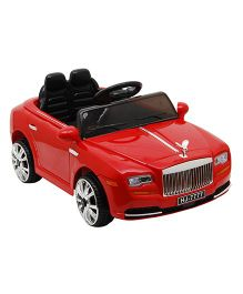 Happykids Battery Operated Ride On Car 2 Motor 2 Battery Fully Assembled - Red