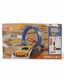 Hot Wheels Motorized Booster Track Builder - 32+ Pieces