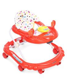 Sunbaby Walker With Play Tray - Red