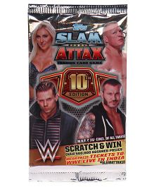 Topps WWE 10 TCG Collection 5s Flowpack - Multi Color