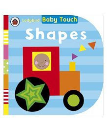 Baby Touch Shapes Reading Book - English