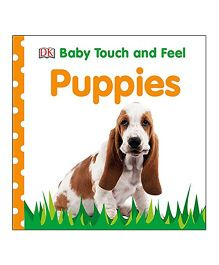 Baby Touch And Feel Puppies Reading Book - English