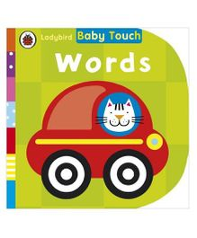 Baby Touch Words Reading Book - English