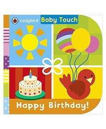 Baby Touch Happy Birthday Reading Book - English