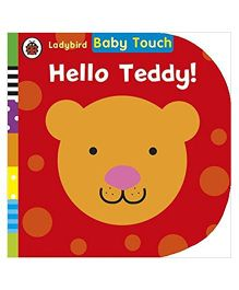 Baby Touch Hello Teddy Reading Book - English
