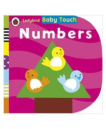 Baby Touch Numbers Reading Book - English
