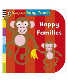 Baby Touch Happy Families Reading Book - English