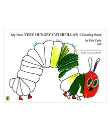 My Own Very Hungry Caterpillar Colouring Book - English