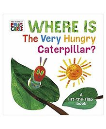 Where Is The Very Hungry Caterpillar Story Book - English