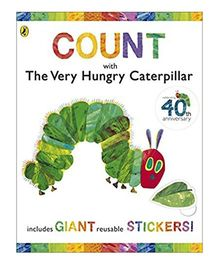 Count With The Very Hungry Caterpillar Story Book - English